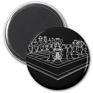 Chessboard & Chess Pieces: Magnet