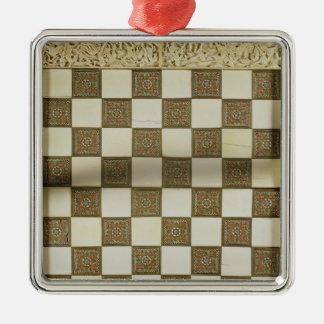 Chessboard Christmas Ornament