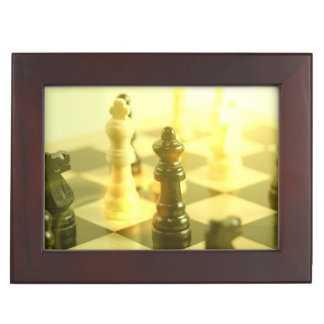 chessboard memory boxes