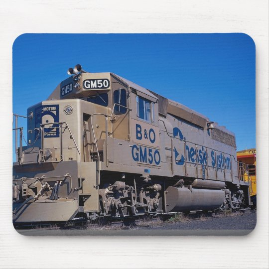 Chessie System/B&O, EMD GP-40 in EMD 50th annivers Mouse Mat