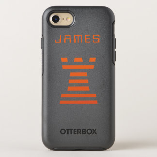 ChessME iPhone Add Name OtterBox Symmetry iPhone 7 Case