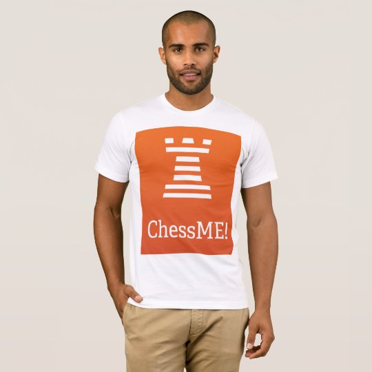 ChessME! White T-Shirt