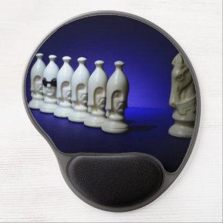 Chessmen Gel Mouse Mat