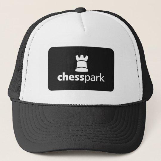 Chesspark_Logo_bw Cap