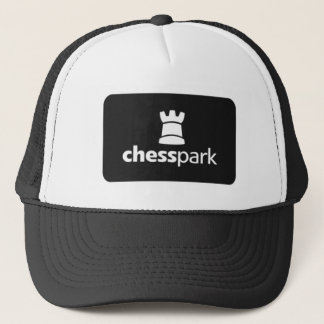 Chesspark_Logo_bw Trucker Hat