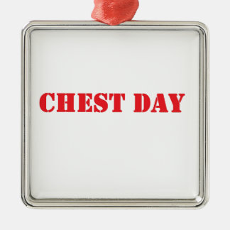 chest day red ornament
