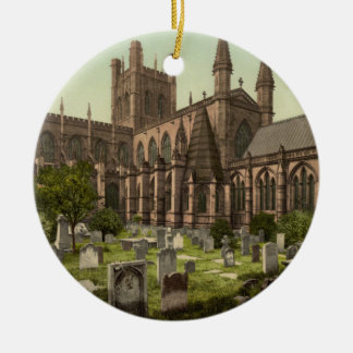 Chester Cathedral, Cheshire, England Christmas Ornament