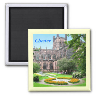 Chester Cathedral Square Magnet