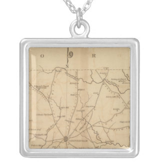 Chester District, South Carolina Silver Plated Necklace