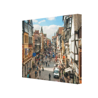 Chester England Historical Roman City Picture Canvas Print