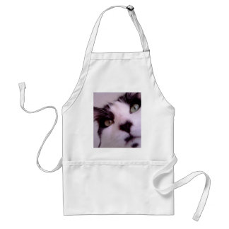 Chester the cat close up adult apron