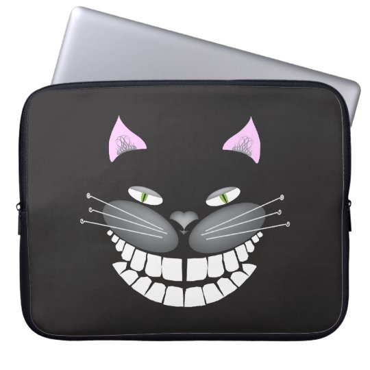 """Chester the Cat"" smiling cute cheshire kitty Laptop"