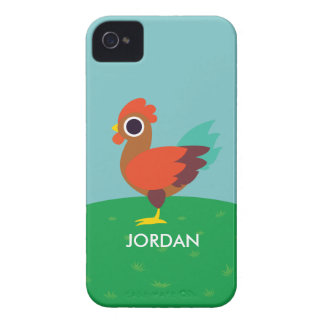 Chester the Rooster iPhone 4 Cases
