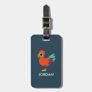 Chester the Rooster Luggage Tag