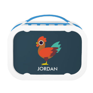 Chester the Rooster Lunch Boxes