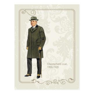 Chesterfield Coat Postcard