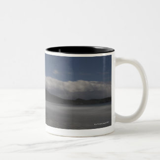 Chesterman Beach, Tofino, Vancouver Island, Two-Tone Coffee Mug