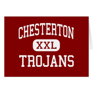 Chesterton - Trojans - High - Chesterton Indiana Card