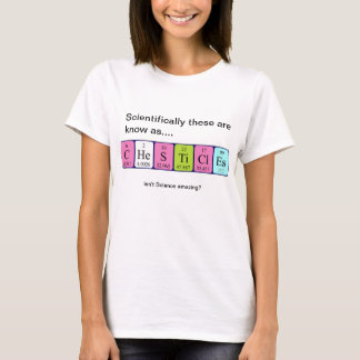 Chesticles amazing science shirt