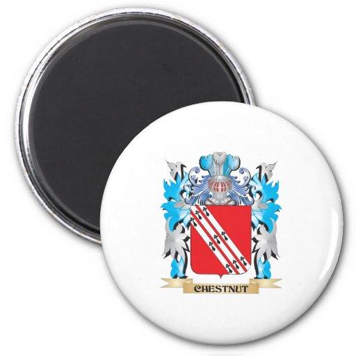 Chestnut Coat of Arms - Family Crest Fridge Magnet