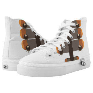 Chestnut High Tops
