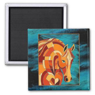 Chestnut Horse Magnet