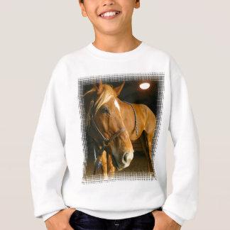 Chestnut Horse Photo Children's Sweatshirt
