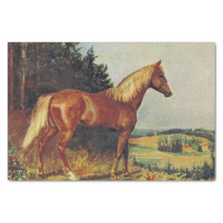 Chestnut Horse Tissue Paper