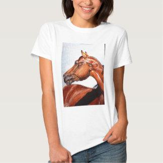 Chestnut horse tshirt