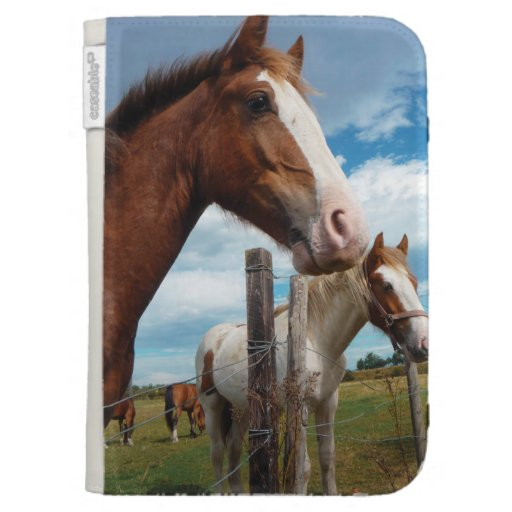 Chestnut Horse with White Blaze & Friends Kindle Cover