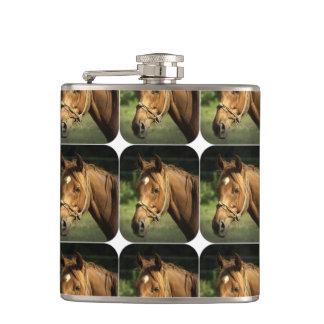 Chestnut Pony Flask