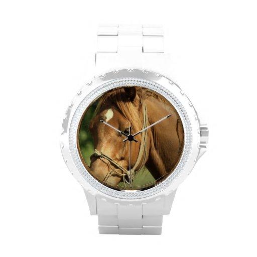 Chestnut Pony Wrist Watches