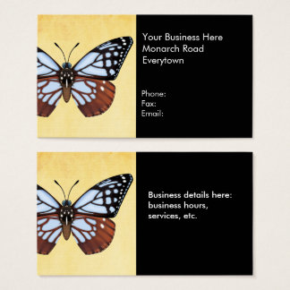 Chestnut Tiger Butterfly Business Card