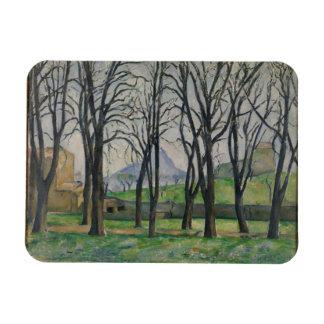 Chestnut Trees at Jas de Bouffan, c.1885-86 Rectangular Photo Magnet