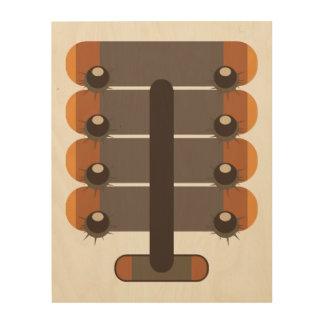 Chestnut Wood Wall Art