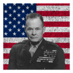 Chesty Puller and The American Flag
