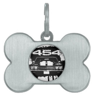 Chevelle 454 pet name tag