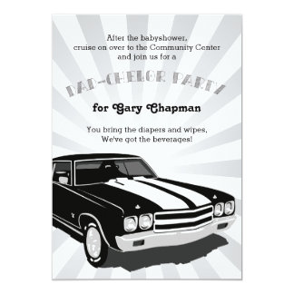 Chevelle Dad-chelor Party Invitation