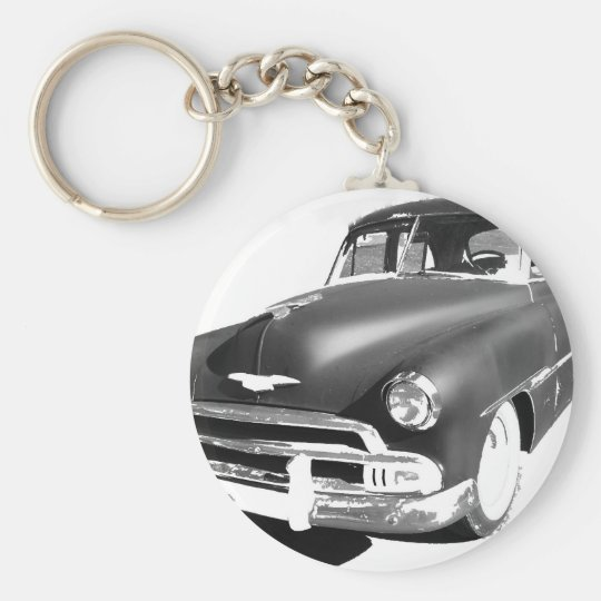 Chevrolet Basic Round Button Key Ring