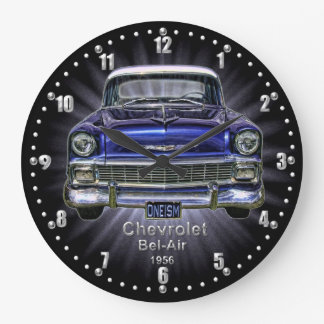Chevrolet Bel-Air 1956 Quartz Wall Clock