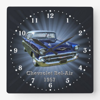 Chevrolet Bel-Air 1956 Wall Clock