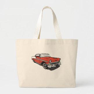 Chevrolet Bel Air - Red Tote Bags