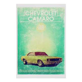 Chevrolet Camaro 1965 Print