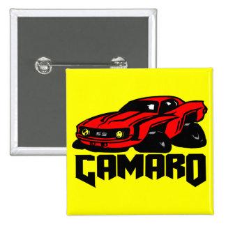Chevrolet Camaro SS 15 Cm Square Badge