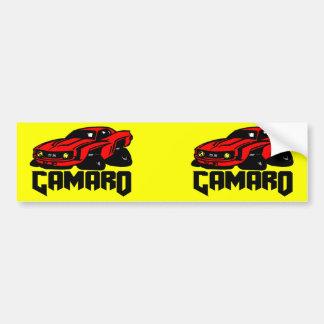 Chevrolet Camaro SS Car Bumper Sticker