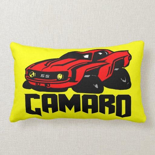 Chevrolet Camaro SS Throw Pillow