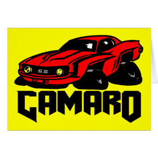 Chevrolet Camaro SS Greeting Card
