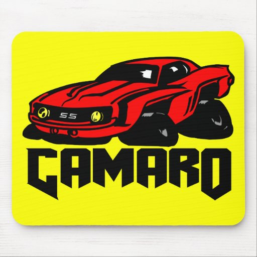 Chevrolet Camaro SS Mousepad
