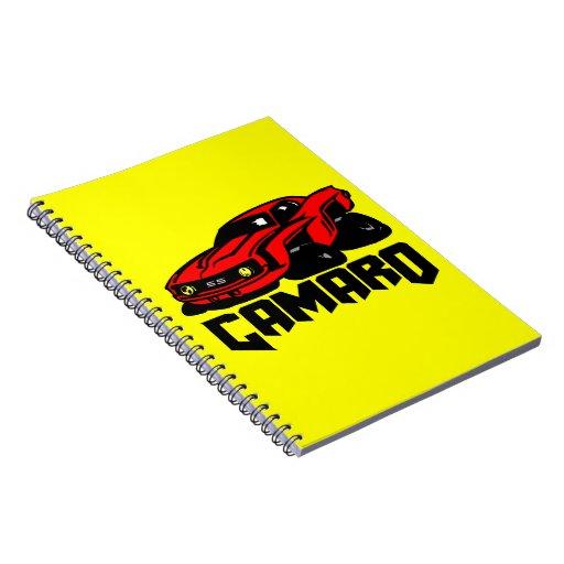 Chevrolet Camaro SS Note Book