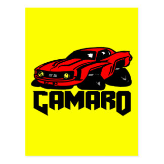 Chevrolet Camaro SS Postcard
